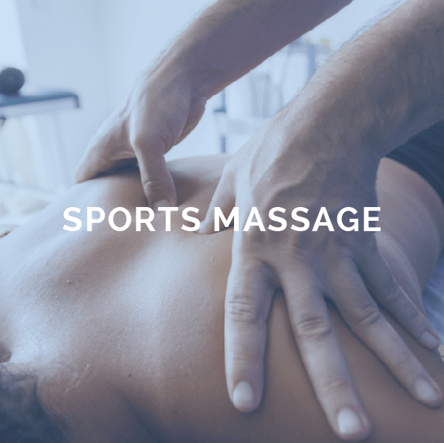 Muscle pain physio